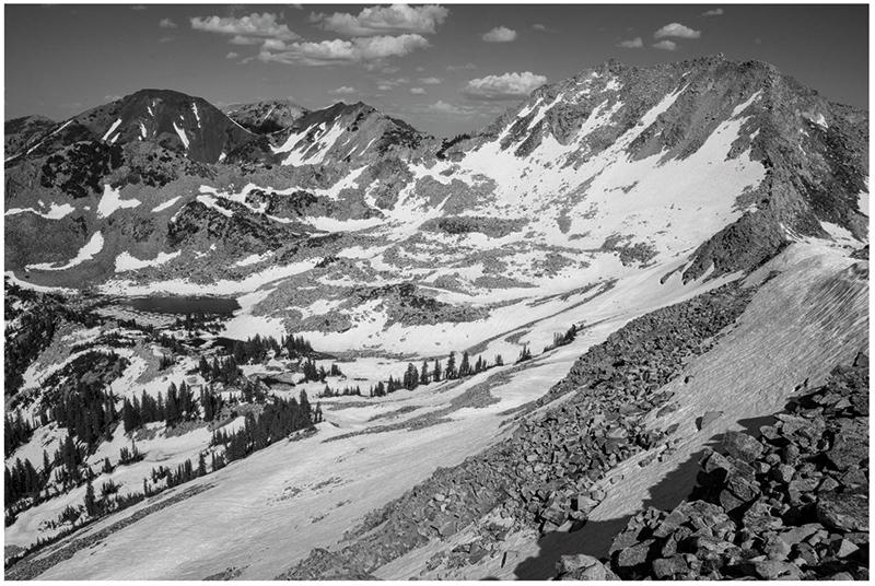 "Russel Albert Daniels, "" Wasatch Alpine"" (2017)"