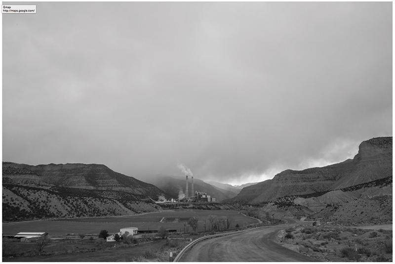 "Russel Albert Daniels, ""Huntington Power Plant, UT"" (2017)"