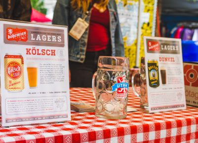 The Bohemian Brewery lineup featured some of the traditional Bavarian styles that they are known for. Photo: Talyn Sherer