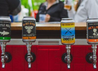 Vernal Brewing came out with something old and something new, all of which tasted great! Photo: Talyn Sherer