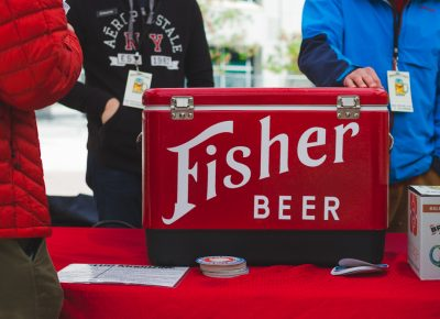 Fisher Beer was unsurprisingly packed as their cult following of beer lovers swarmed their booth. Photo: Talyn Sherer