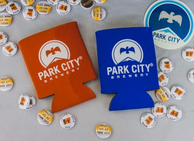 Park City Brewery did not skip on the swag or the flavor at this year's event. Photo: Talyn Sherer
