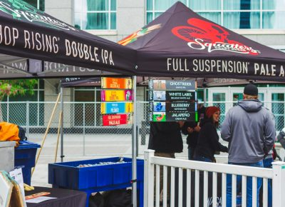 It wouldn't be a Utah beer fest without a Squatters/Wasatch collab booth. Photo: Talyn Sherer