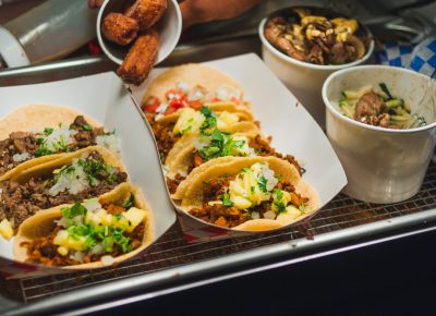 Tacos and fried foods, what better way to end the night? Photo: Talyn Sherer