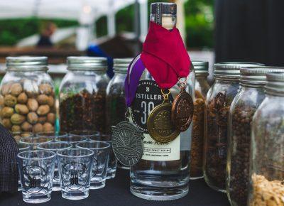 Distillery 36 gives us a tastes of their award-winning rum and the ingredients that make up its profile. Photo: Talyn Sherer