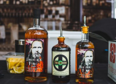 Ogden's Own gave us a taste of their unique spirits that are sure to make you think twice about flavored whiskeys. Photo: Talyn Sherer