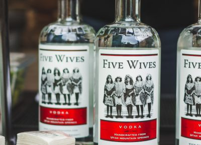 Five Wives Vodka prepares their vodka straight up, as its smooth flavors are easy on the palette. Photo: Talyn Sherer