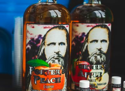 Porter's Peach and Porter's Apple were by far the most game-changing introductions to flavored whiskey I have ever had. Photo: Talyn Sherer