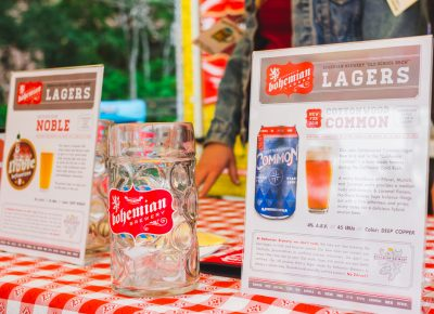 Bohemian Brewery's lagers are always a good idea. Photo: Talyn Sherer