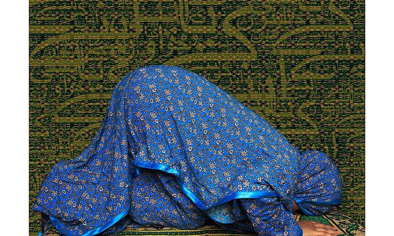 Martha Díaz Adam, Muslim Female Praying (2016).