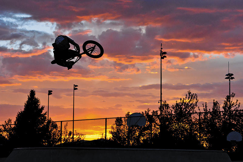 BMX Photo Feature: Garrett Bowers