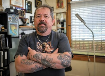 Sergio Reynoso Sr. of Tattoolan. Photo: John Barkiple