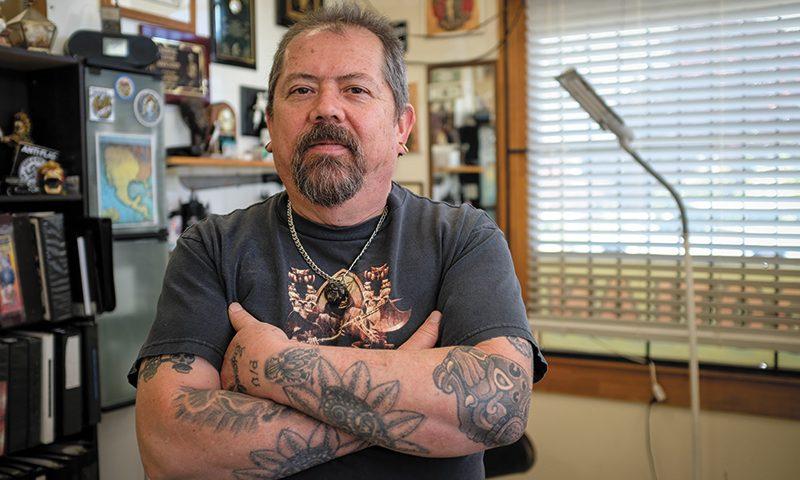 Sergio Reynoso Sr. of Tattoolan. Photo: John Barkiple
