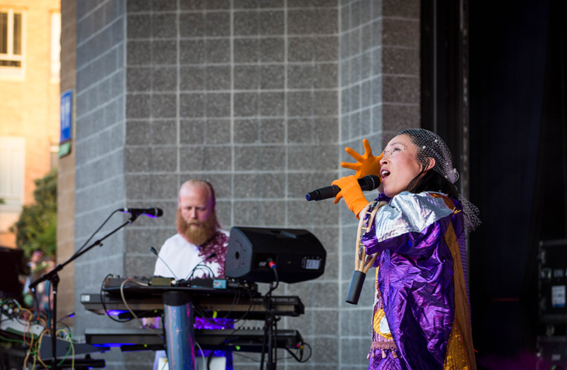 Little Dragon headlines the 4th annual Ogden Twilight.