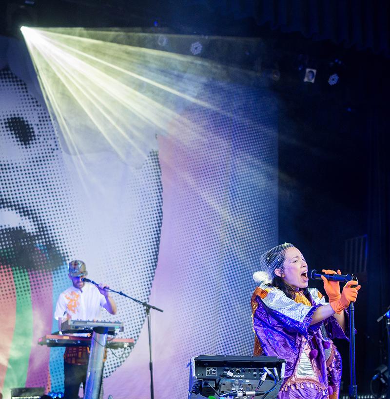 Nagano lights the Odgen stage.