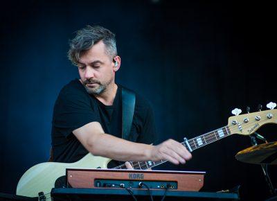 Bonobo mixes analog and electronic instruments at Ogden Twilight.