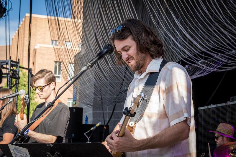 Night Marcher kick off the 2018 Ogden Twilight Concert Series. Photo: ColtonMarsalaPhotography.com