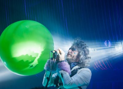Wayne Coyne sings. Photo: ColtonMarsalaPhotography.com