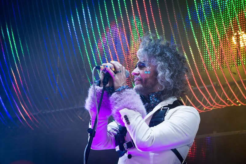 Wayne Coyne of the Flaming Lips. Photo: ColtonMarsalaPhotography.com