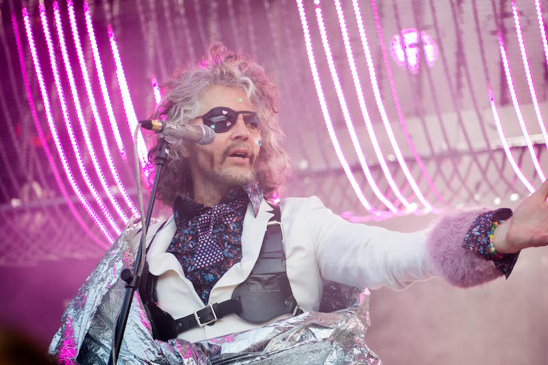 Lead vocalist of The Flaming Lips, Wayne Coyne. Photo: ColtonMarsalaPhotography.com