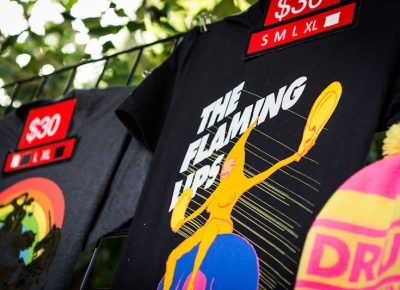 Flaming Lips merch. Photo: ColtonMarsalaPhotography.com