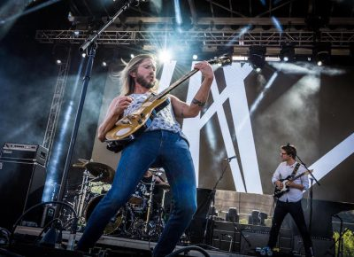 Moon Taxi did not lack emotion and entertainment.