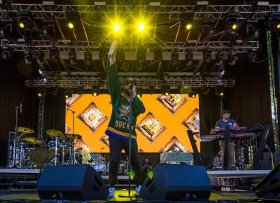 Quinn XCII takes the stage Friday evening.