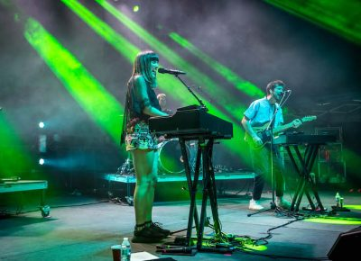 London-based duo Oh Wonder.