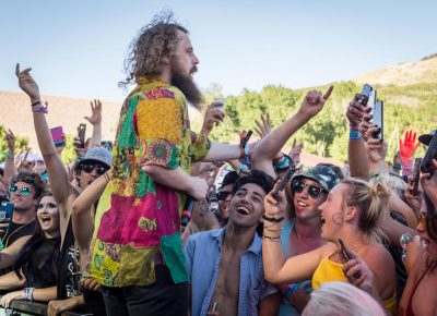 Hippie Sabotage pumps up the crowd