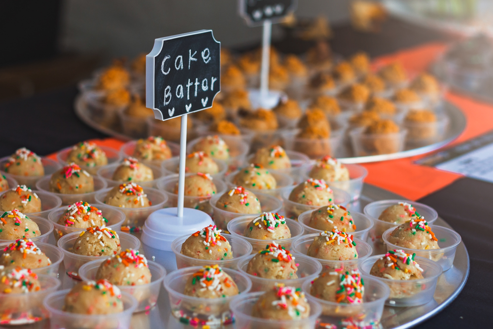The cake batter dough balls by Dough Co. kept us coming back for seconds and thirds. Photo: Talyn Sherer