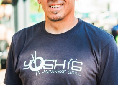 Eddeesan is the creative genius behind Yoshi's Japanese Grill. Photo: Talyn Sherer
