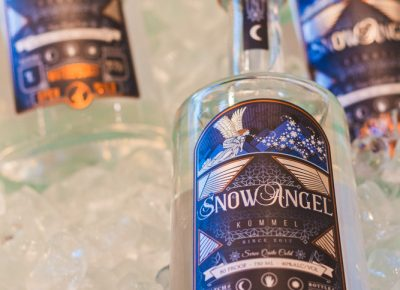 The SnowAngel Kummel by Waterpocket Distilling is an absolute herbal liquor treat. Photo: Talyn Sherer
