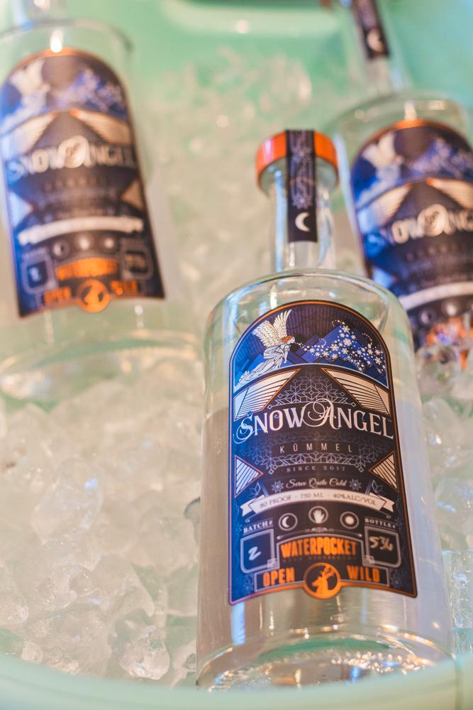 The SnowAngel Kummel by Waterpocket Distilling is an absolute herbal liquor treat. Photo: Talyn Sherer