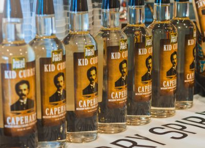 Kid Curry mixed things up with their newest vanilla caramel vodka. Photo: Talyn Sherer