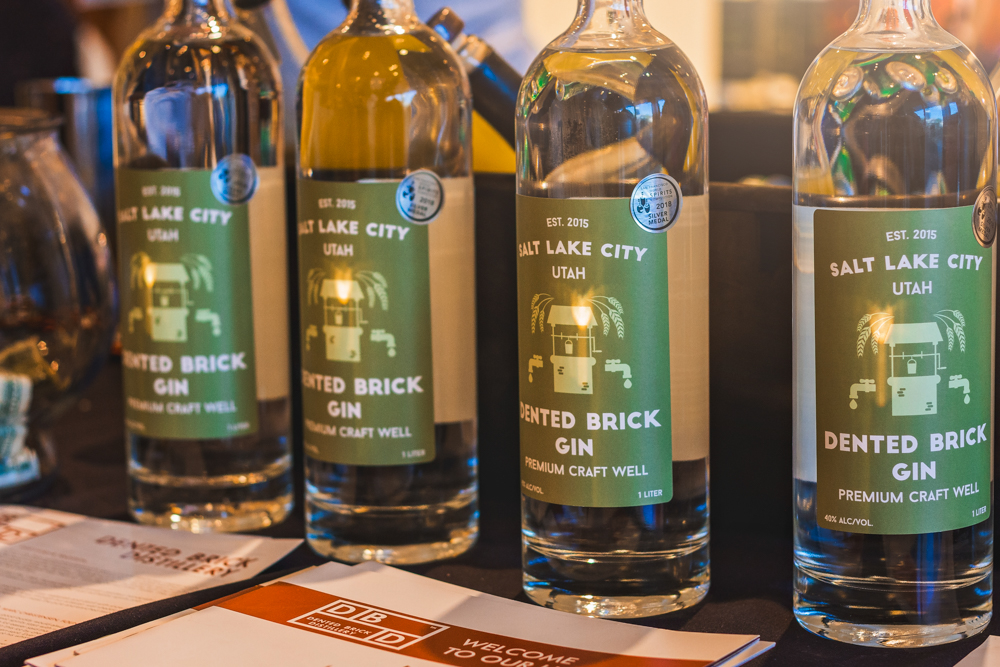 Dented Brick debuts their new labels at this year's Tastemaker's event. Photo: Talyn Sherer