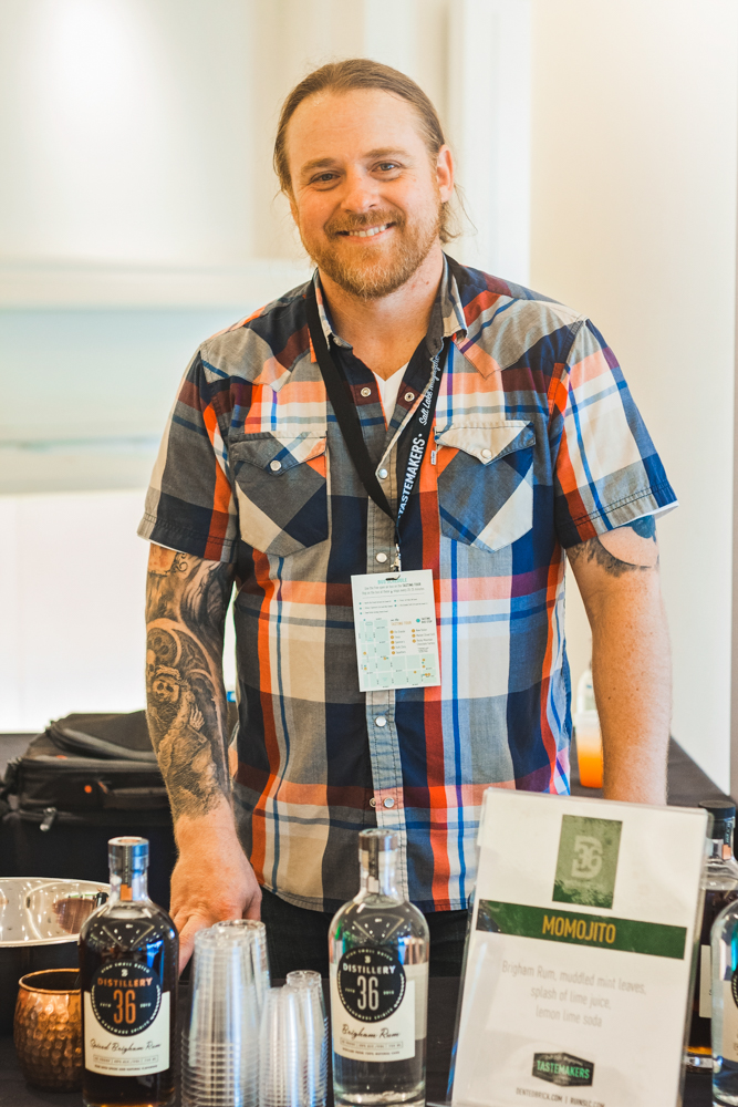 John Gregersen is both the head distiller and co-owner of Distillery 36, one of Utah's great rum makers. Photo: Talyn Sherer