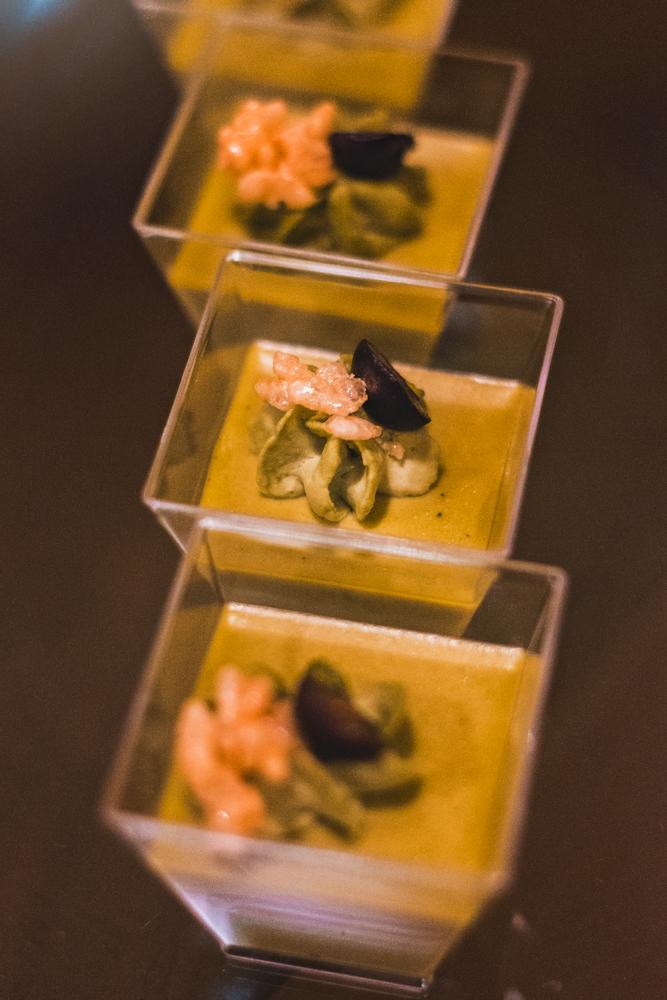 Spencers treats us to a subtle yet sweet green tea crème brûlée. Photo: Talyn Sherer