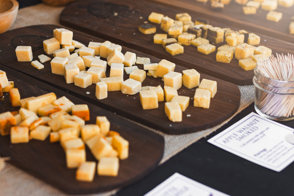 Beehive cheeses are always a staple of any great Utah food event. Photo: Talyn Sherer