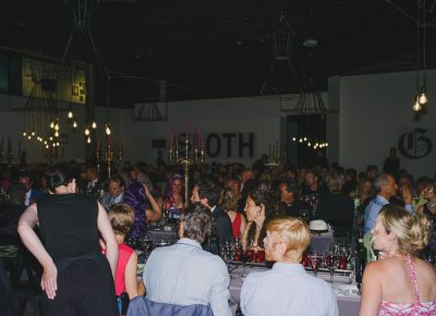 The Main Gallery at UMOCA provided an intimate setting for this year's gala. Photo: @clancycoop
