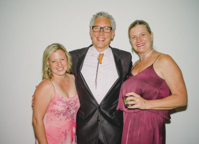 (L–R) Kim Sorrentino (lust), Dee Brewer (gluttony) and Portia Snow (pride). Photo: @clancycoop