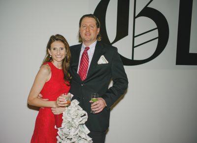 (L–R) Elizabeth Brereton (lust) and Frank Kush (greed). Photo: @clancycoop