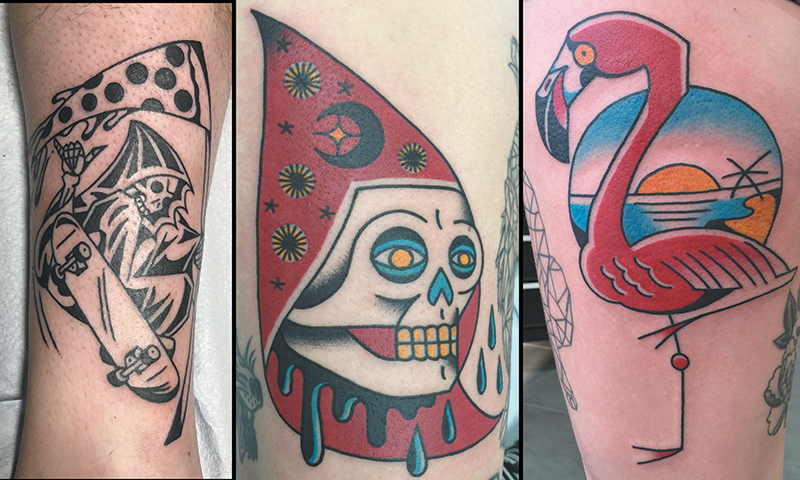 Local Tattooers: Gailon Justus