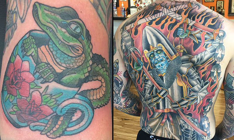 Local Tattooers Nick Phillips Slug Magazine