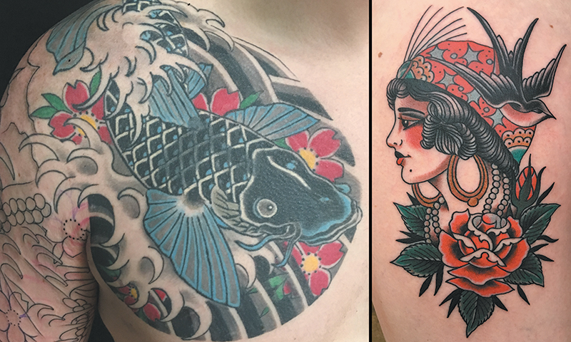 Local Tattooers: Oscar Garcia
