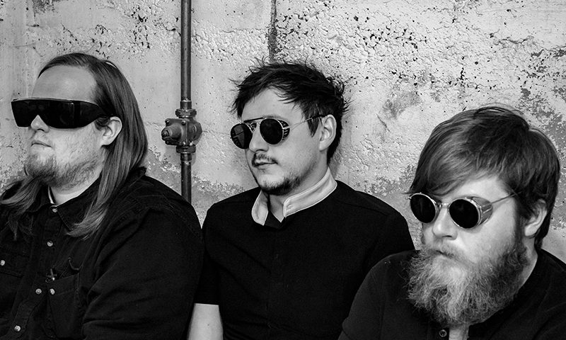 (L–R) Nicholas Allen, Chris Fallo and Marz Samuel Leizureman carefully orchestrate a range of hardcore and psychedelic sound as Mortigi Tempo.