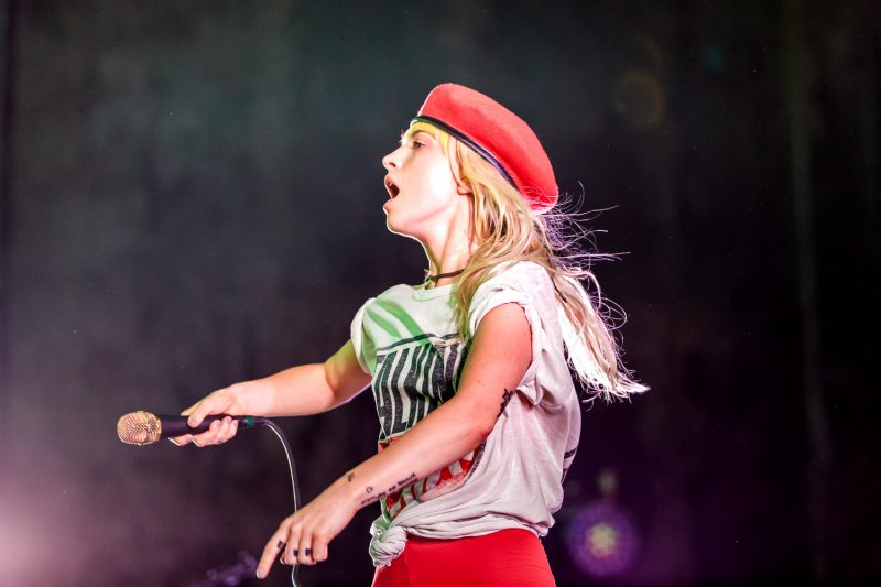 Hayley Williams looking like she's going to start a revolution. Photo: Lmsorenson.net