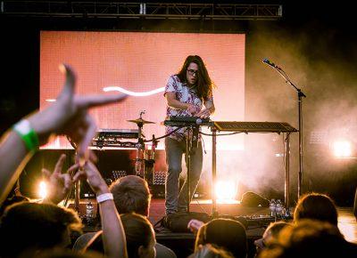 Big Wild takes the stage. Photo: Colton Marsala