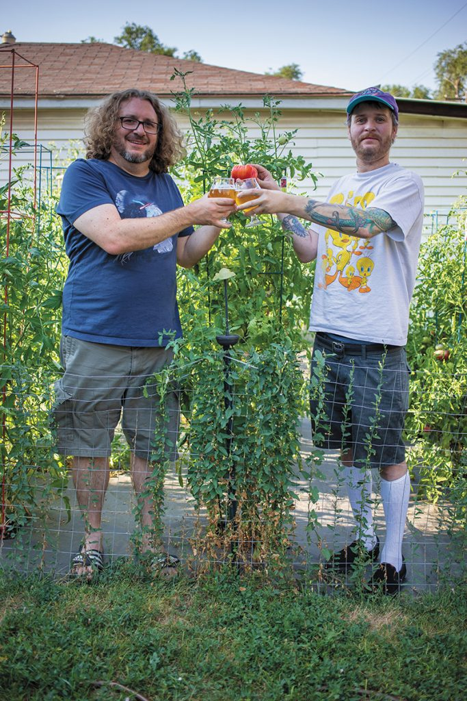 Mike Brown: Tomatoes!