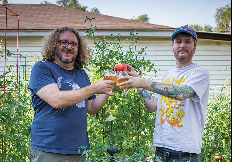 If you cross-breed a (L–R) Circus Brown and a Mike Brown, you don't get an Angela H. Brown—you just get a tomato.