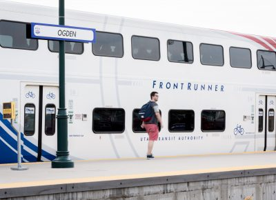 The Front Runner is a great option to get to Ogden from SLC.